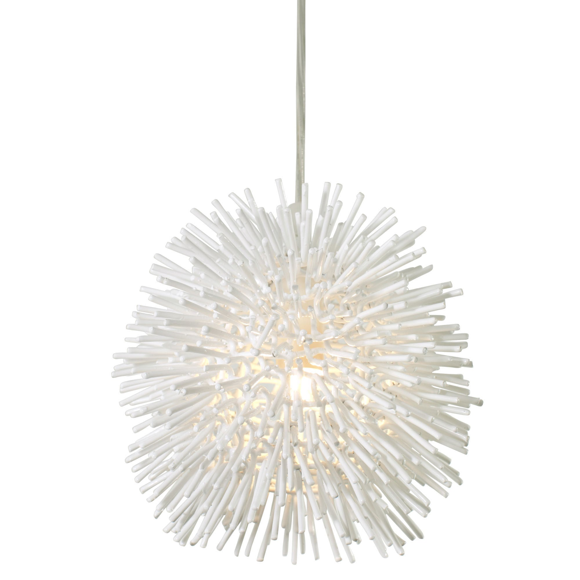 urchin starburst silver chrome elk lighting light pin chandelier polished