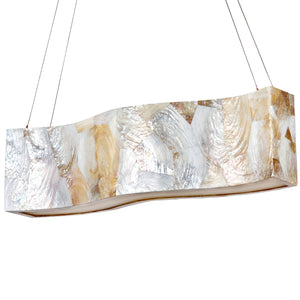 Big 178N05A 4-Lt Linear Pendant - Kabebe Shell
