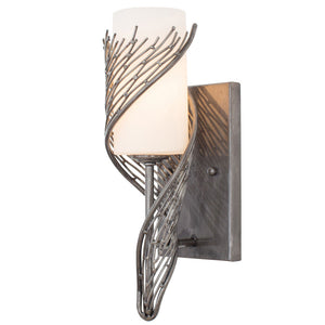 Flow 240K01SL 1-Lt Wall Sconce - Steel
