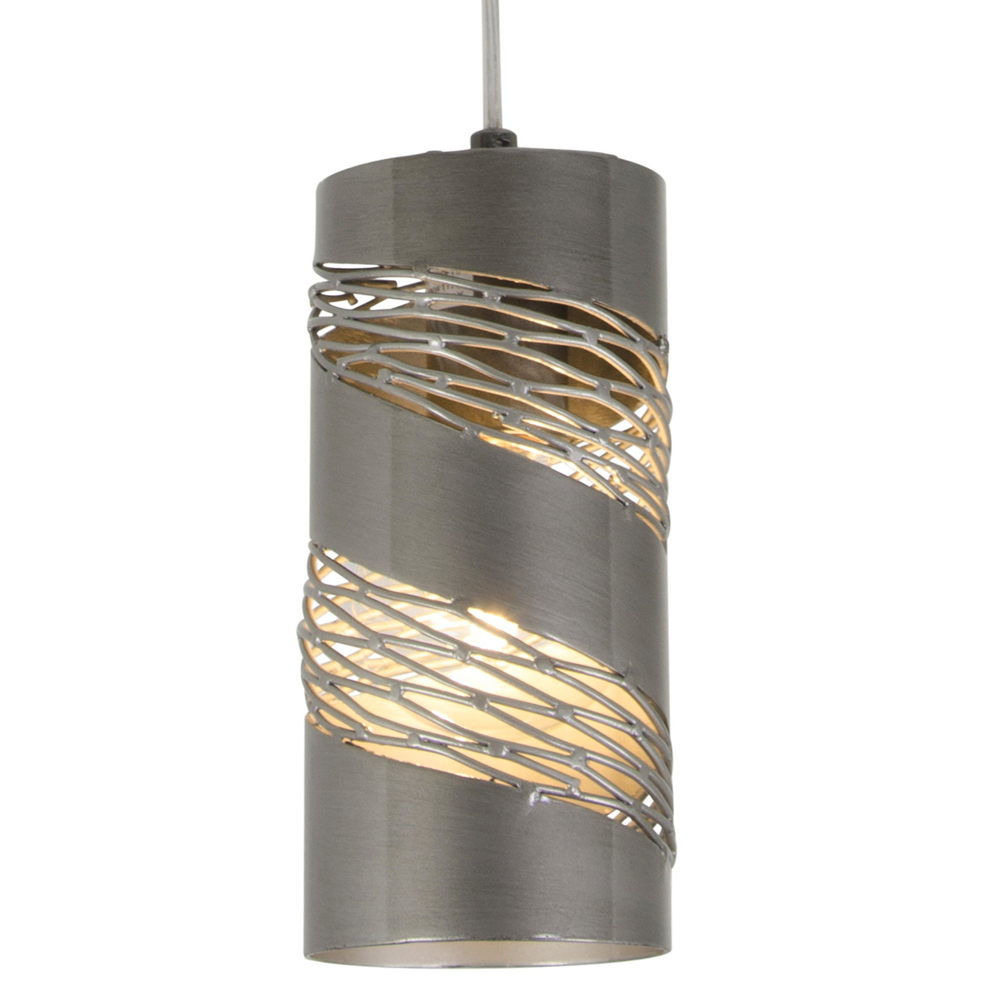 light mini of beautiful metal pendant cylinder shades