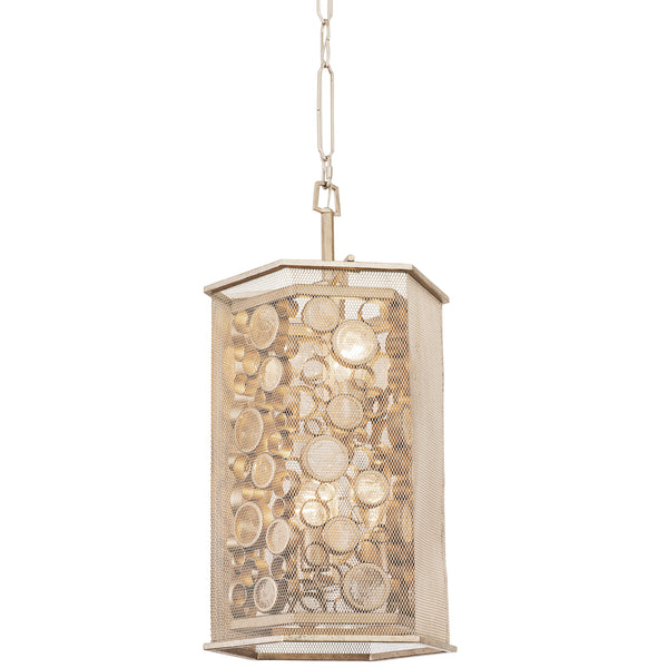 Foyer pendants varaluz fascination 293f06zg 6 lt hex foyer pendant zen gold aloadofball Images