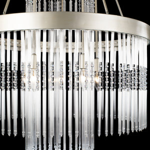 Amelia 4-lt Chandelier - Silverado 322C04SO