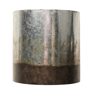 Cannery 1-lt Sconce - Ombre Galvanized 323W01OG
