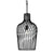 Elsa 1-L t Wine Bottle Pendant - Black