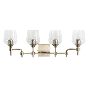 Margaux 4-Lt Bath - Antique Brass