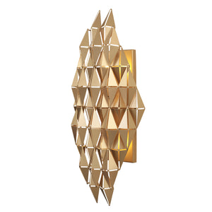 Forever 2-Lt Wall Sconce - French Gold