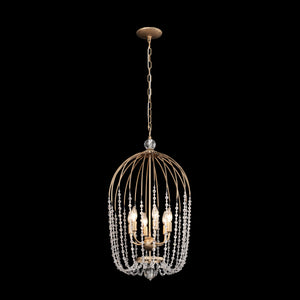 Voliere 6-Lt Crystal Foyer Pendant