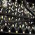 Windsor 8-Lt Crystal Oval Linear Pendant - Carbon Black/Havana Gold