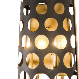 Bailey 2-Lt Wall Sconce - Matte Black/French Gold 346W02MBFG