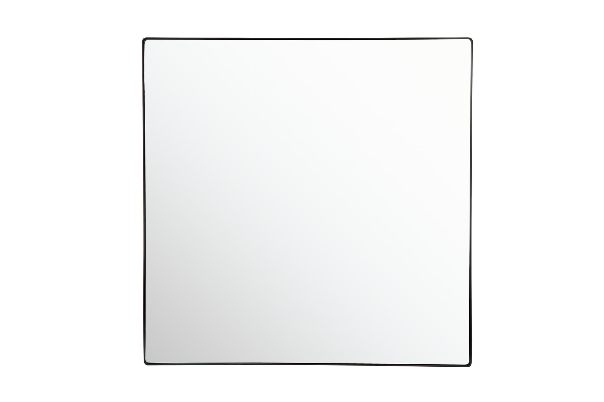 Kye 407A06BL 40x40 Rounded Square Mirror - Black
