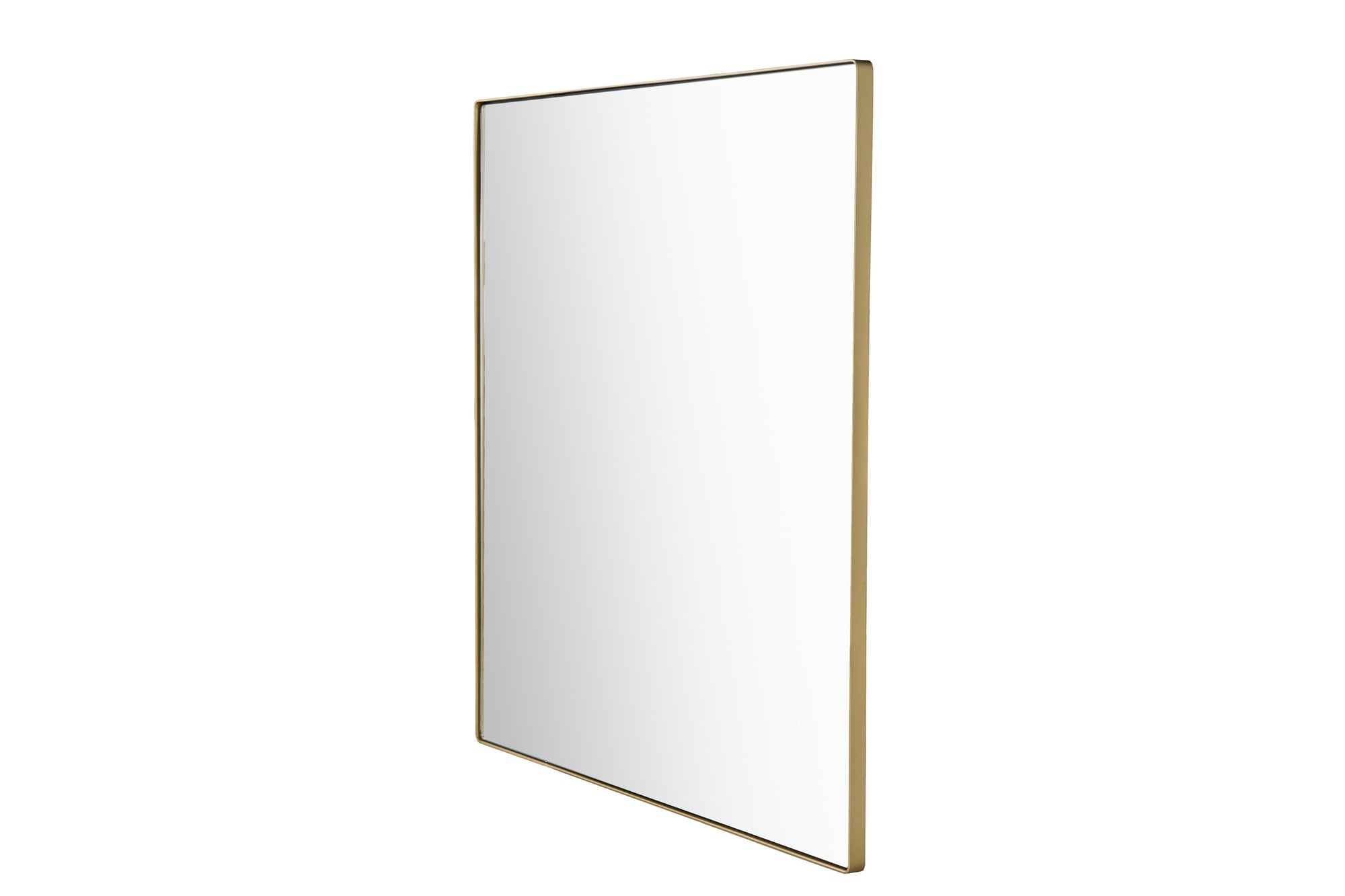 Kye 407A06GO 40x40 Rounded Square Mirror - Gold