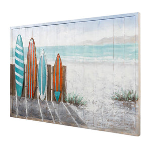 Surfer's Paradise Mixed Media Wall Art