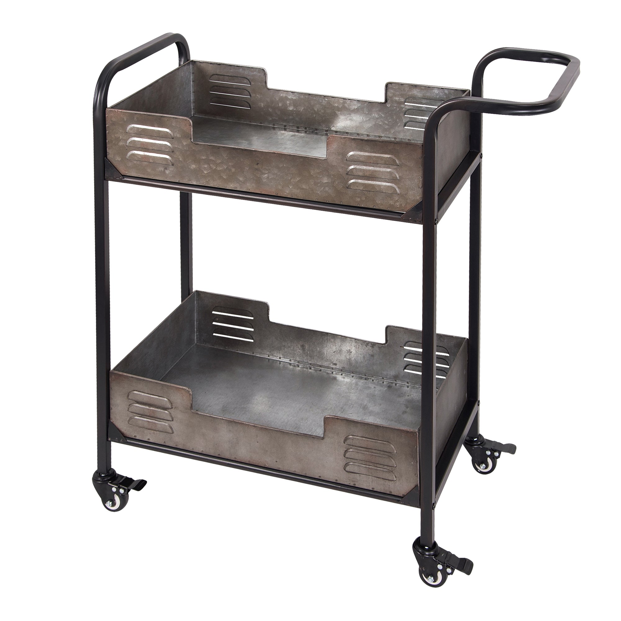 Elixir Rustic Metal Bar Cart 4FEN0201