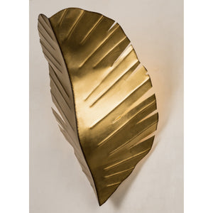 Banana Leaf 901K02GO 2-Lt Wall Sconce - Gold