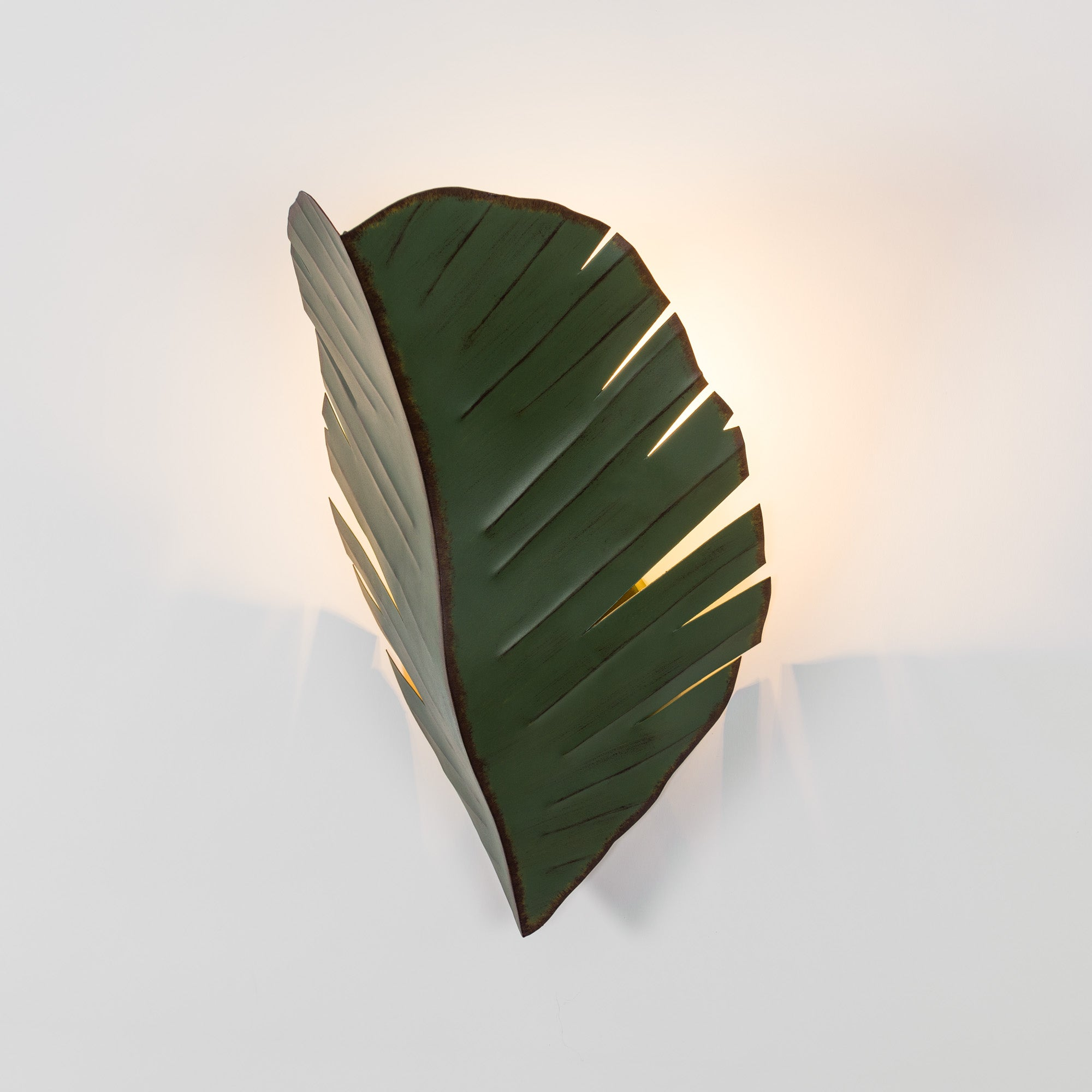 Banana Leaf 901K02 2-Lt Wall Sconce