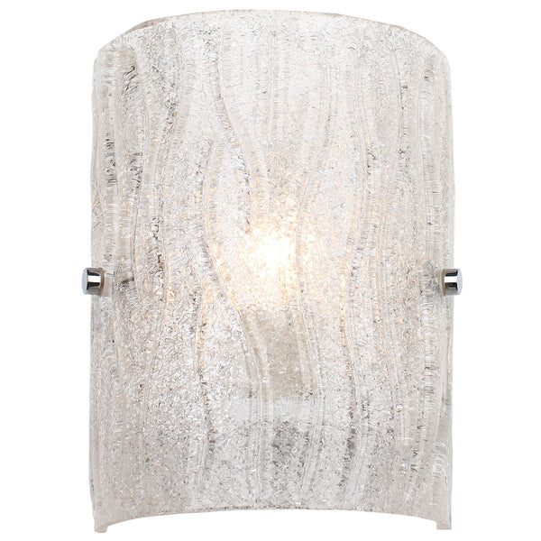 brilliance ac1101 1lt wall sconce chrome lighting