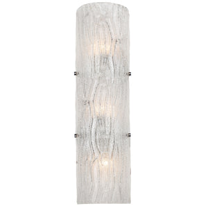 Brilliance AC1105 3-Lt Wall Sconce - Chrome
