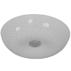 Swirled AC1581 Small Flush Ceiling Light