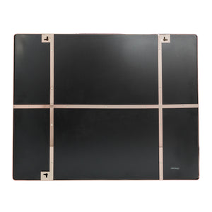 Kye 30x24 Rounded Rectangular Wall Mirror - Rose Gold - 407A02RG