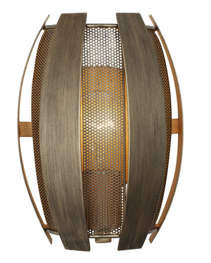 Sawyers Bar 1-Lt Wall Sconce - Havana Gold