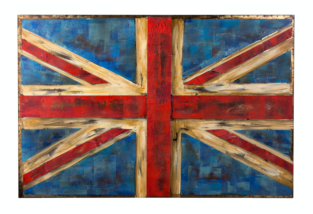 UK Flag Wall Art 4DWA0104