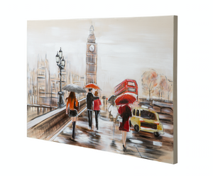 Big Ben Wall Art 4DWA0105