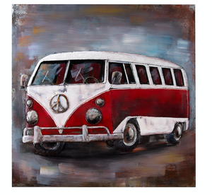 Vanagon Wall Art 4DWA0106