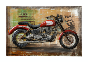 Triumph - Motorcycle Wall Art 4DWA0107