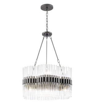 Astrid 8-Lt Chandelier - New Bronze  326C08NB