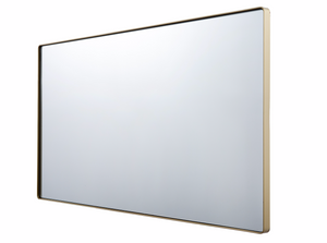 Kye 22x40 Rounded Rectangular Wall Mirror - Gold 4DMI0108
