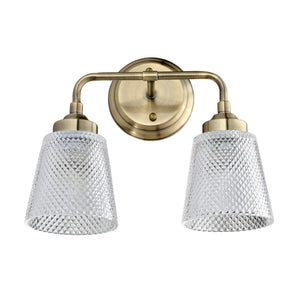 Westport 2-Lt Bath - Antique Brass 312B02AB