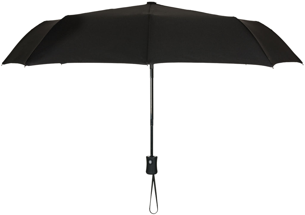 Blue-Sky Black Compact Windproof 60 mph Outdoor 8 Rib Travel Umbrella