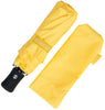 Yellow Compact Windproof 60 mph Outdoor 8 Rib Travel Umbrella