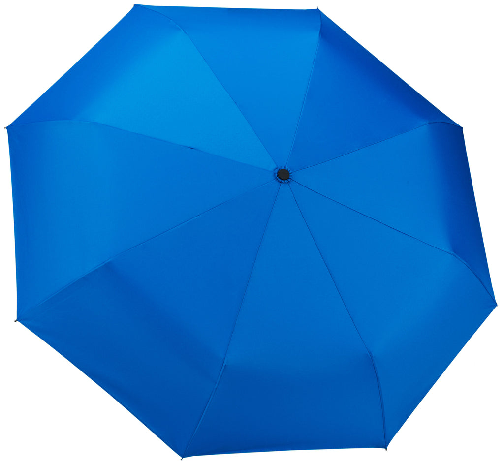 Blue-Sky Blue Compact Windproof 60 mph Outdoor 8 Rib Travel Umbrella