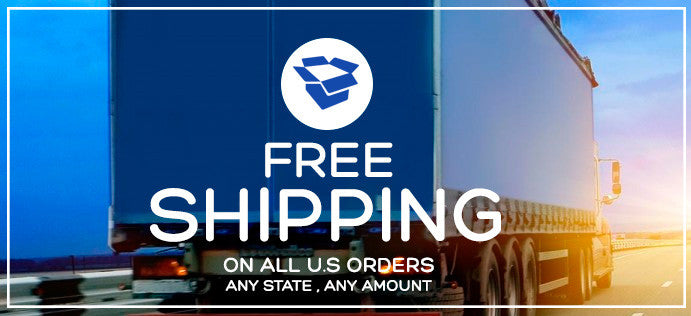 Free Shipping On All U.S Orders