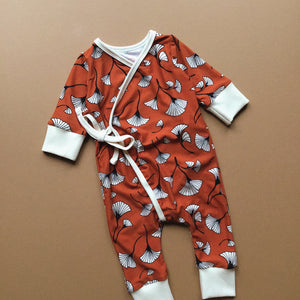 A New Leaf Wrap Romper