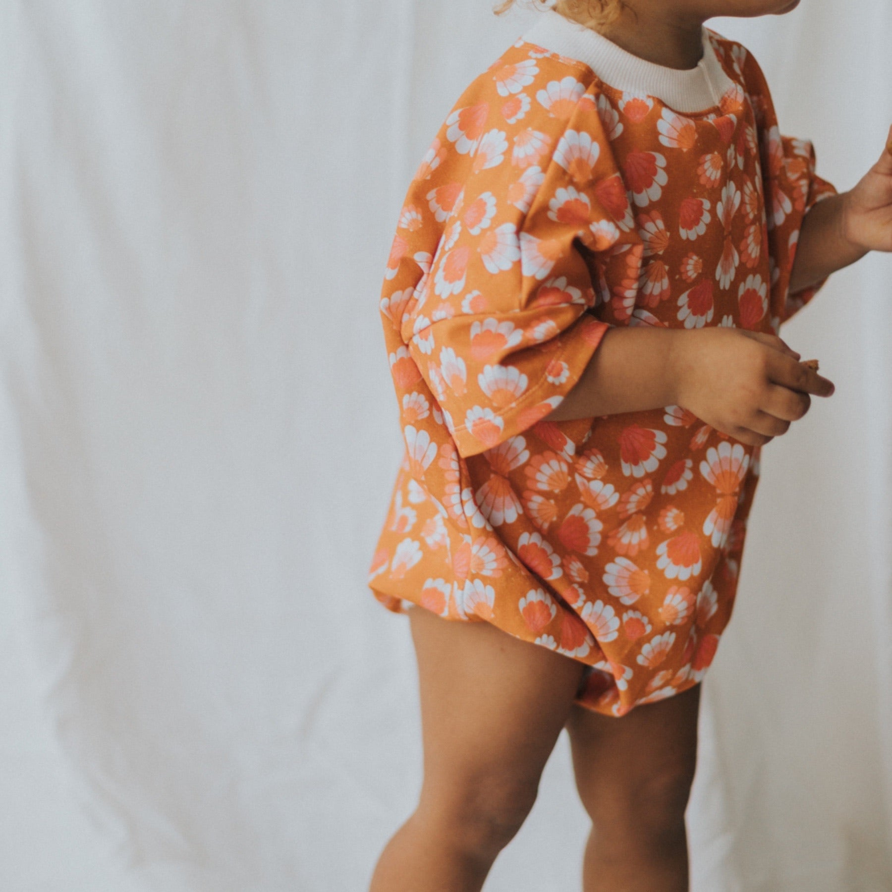 Shell-ebration Sweater Romper