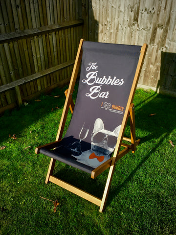 The Bubbles Bar Deck Chair