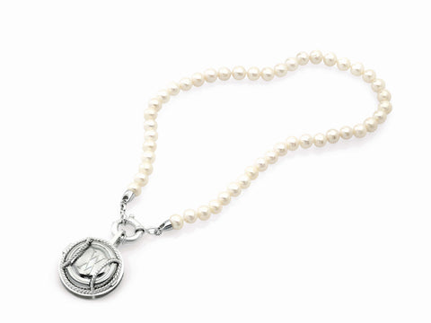Single Strand Blanc de Blancs Pearl Necklace