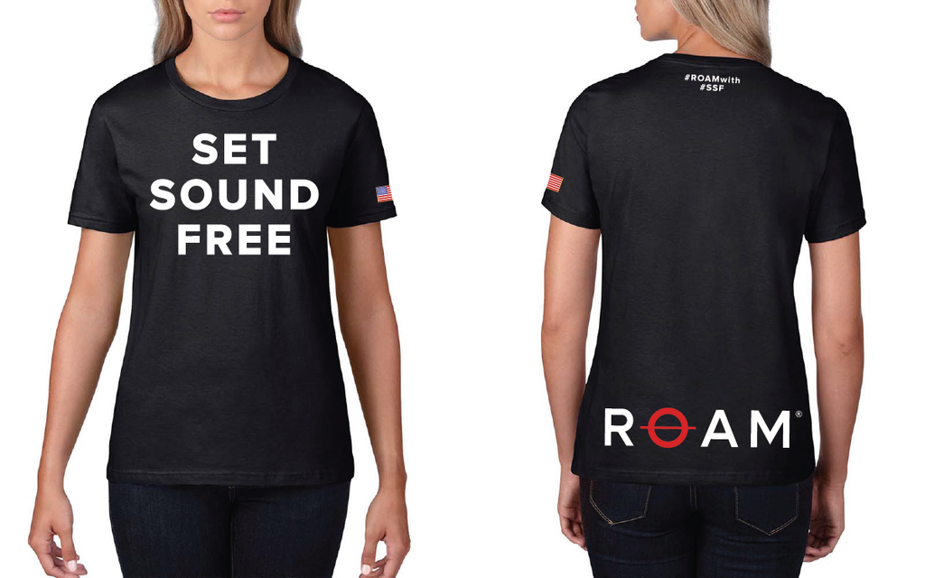 Limited Edition SET SOUND FREE T-Shirt - Womens