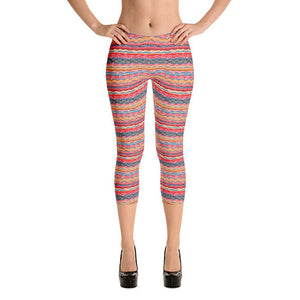 Bohemian Hippie Capri Leggings