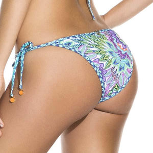 Swimwear - Blue Winter Tie String