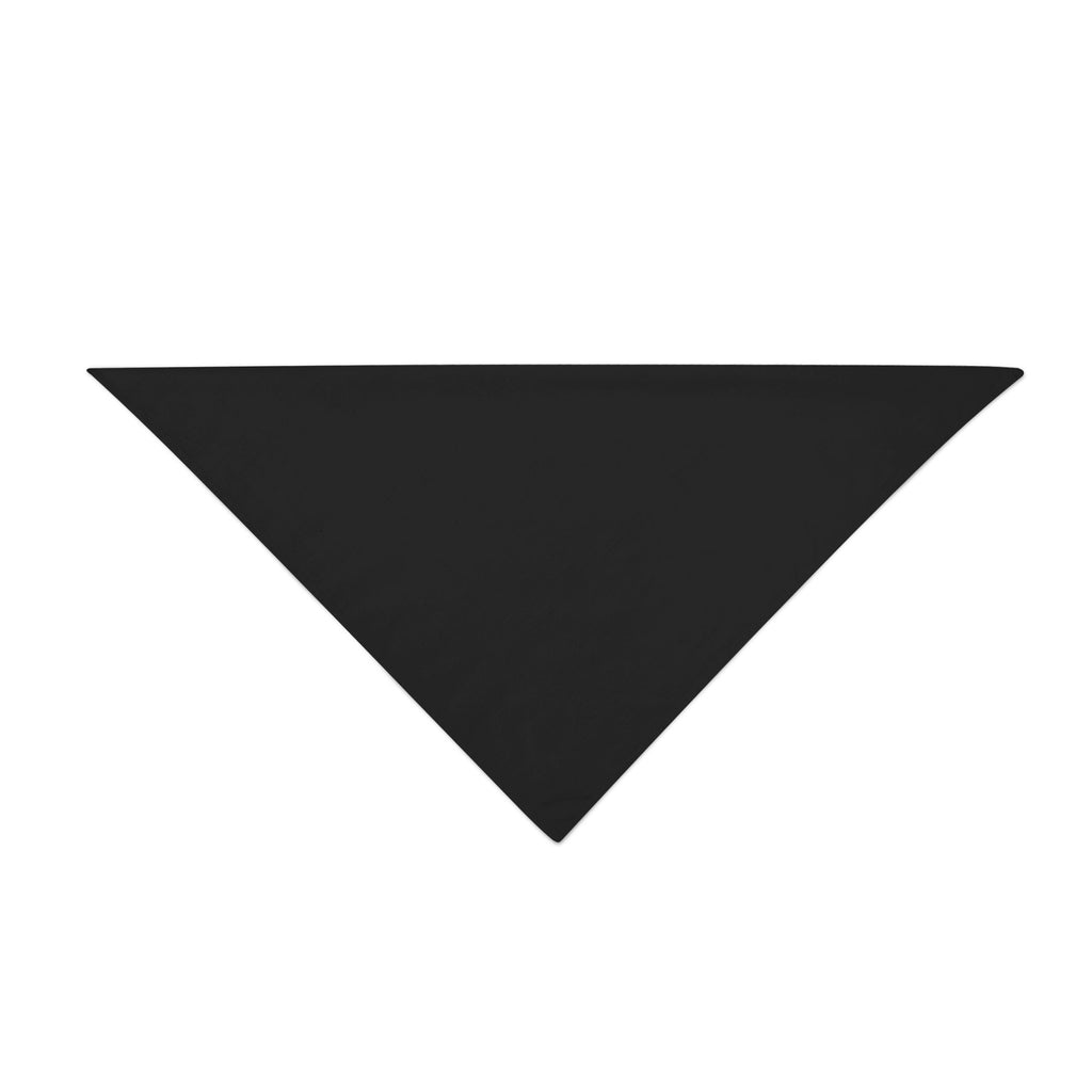 Triangle Bandana - Black Plain