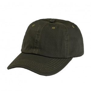 Cotton Dad Hat - Olive Plain