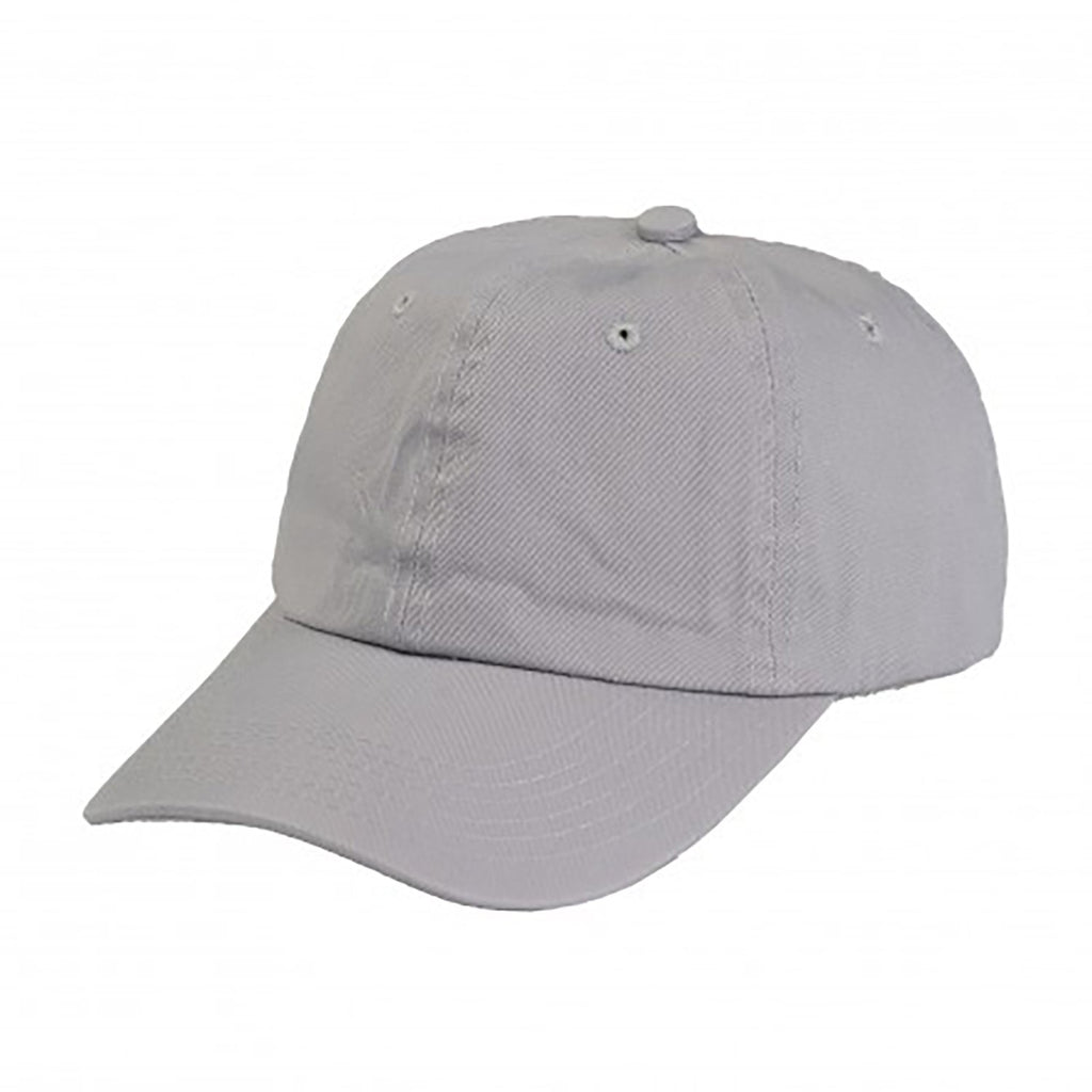 Cotton Dad Hat - Grey Plain