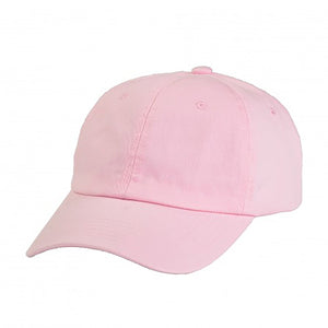Cotton Dad Hat - Pink Plain