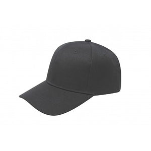 Baseball Cap - Black Plain