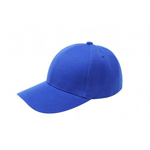 Baseball Cap - Royal Blue Plain