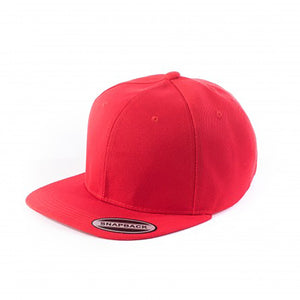 Snapback Flat Brim - Red Plain