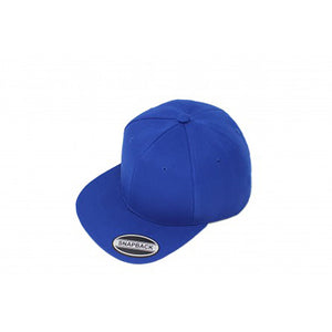 Snapback Flat Brim - Royal Blue Plain